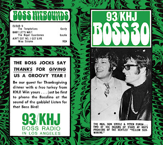 KHJ Boss 30 No. 177 - The Real Don Steele with Peter Fonda