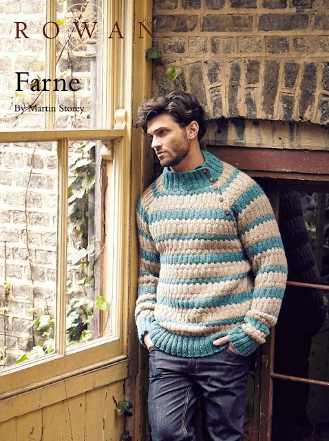 Free 1960's Knitting Pattern 1960's Style Mens Farne Sweater