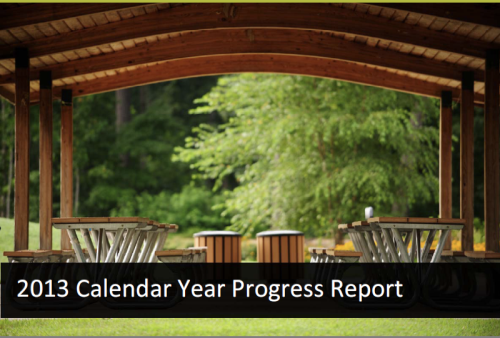 2013 Pittsboro Parks Progress Report