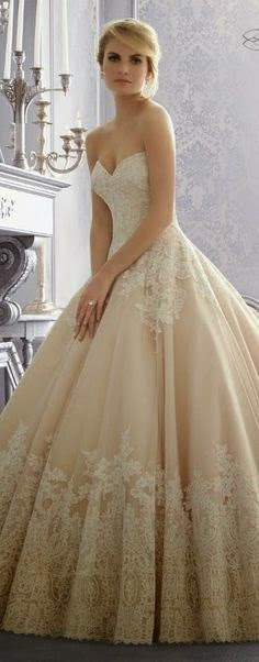 So sweet wedding dress