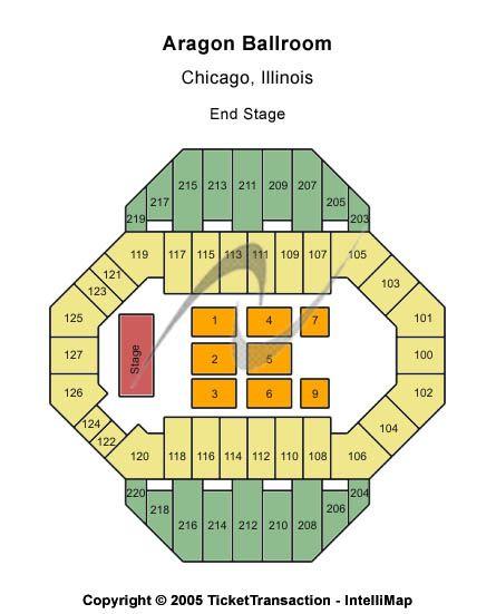 Ballroom Lighting Pic Aragon Ballroom Seating Chart