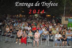 ENTREGA DE TROFEOS 2014