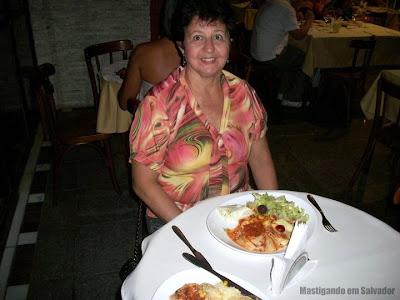 Mãe da Andréa Bichoffe no Arraía da ABPA