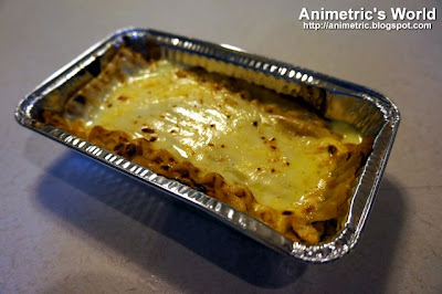 Cheesy Lasagna from Angel's Pizza