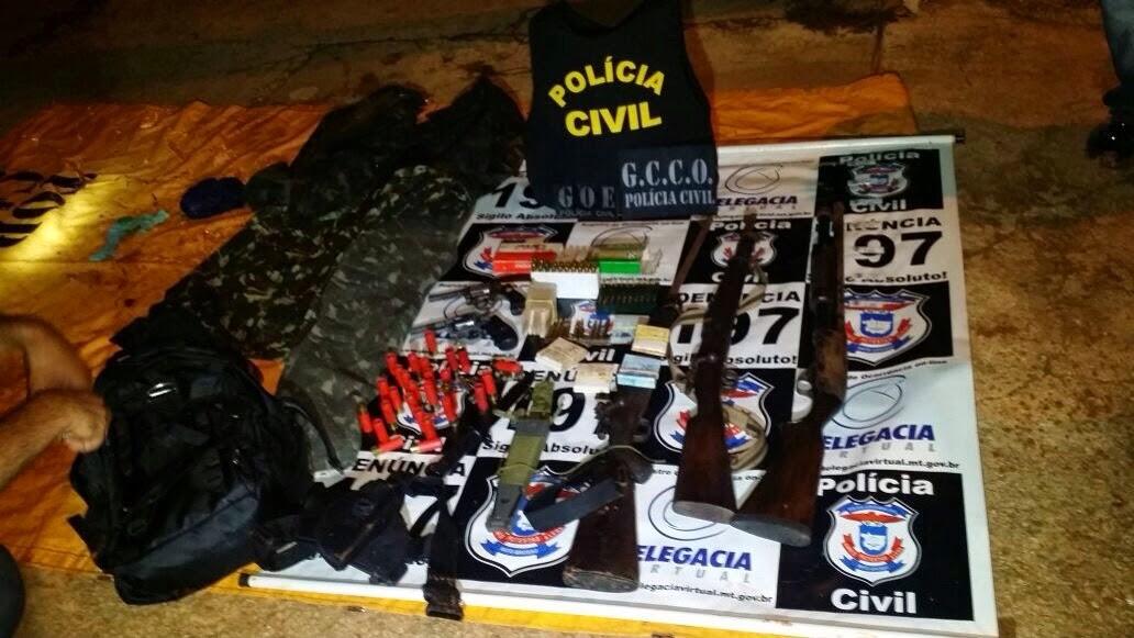 Polícia Civil prende 3 assaltantes do roubo em banco de Nova Maringá
