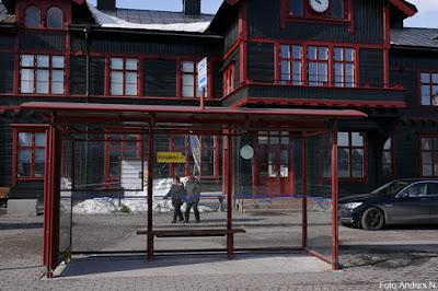 busskur, norrbotten, länstrafik, gällivare, station