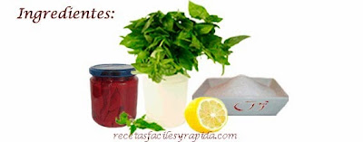 Pimientos caramelizados - confitados - Ingredientes