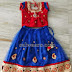 Crystal Work Kids Net Lehenga