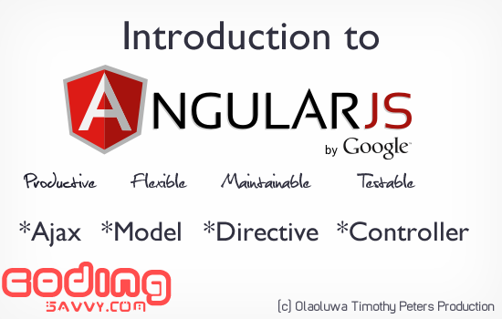 5 Minutes headstart on How to use AngularJs for web Design