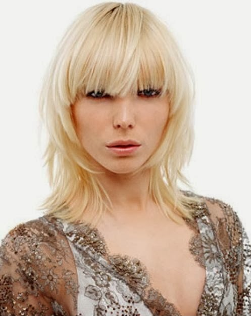 Short Shag Hairstyles with Bangs