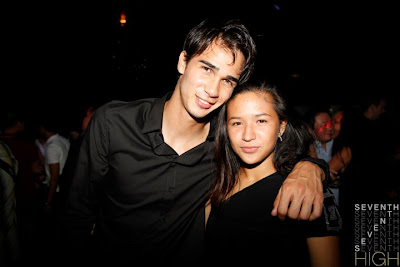 James Younghusband and girlfriend picture