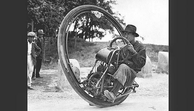 6. Sepeda Roda Satu