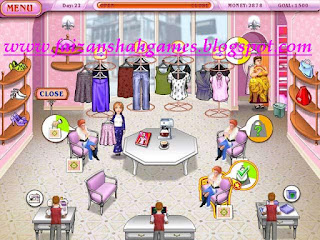 Dress up rush game online
