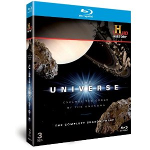 The Universe Season 3 Set of Blu-ray disks