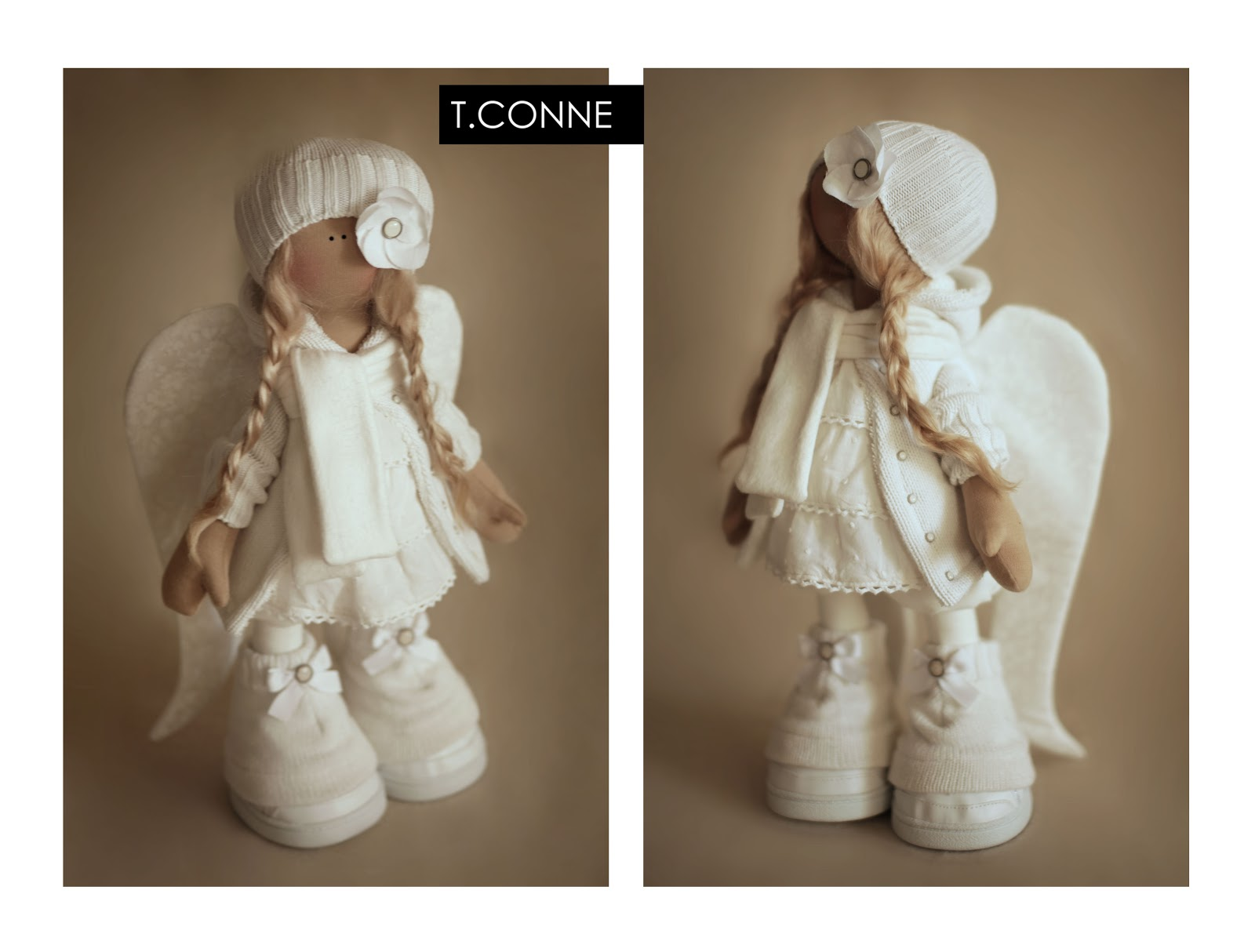 Куклы Татьяны Коннэ.