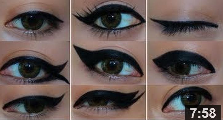 Cool Eyeliner Looks Di...