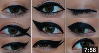 How To Get 9 Different Eyeliner Looks Using Black Gel Liner