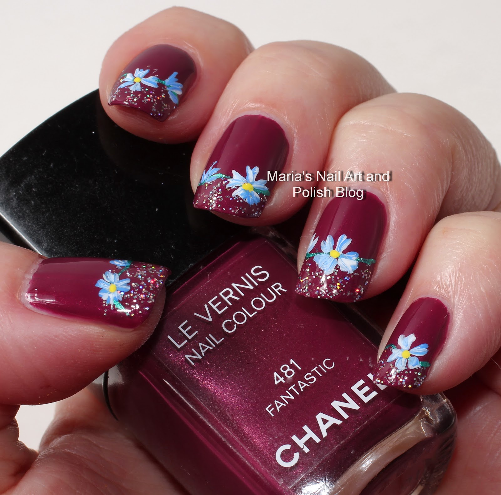 Marias Nail Art And Polish Blog Subtle Floral Nail Art On: Marias Nail Art And Polish Blog: Fantastic Confetti Flowers