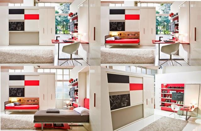 furniture unik, Transformasi Furniture Unik Untuk Ruangan Yang Sempit