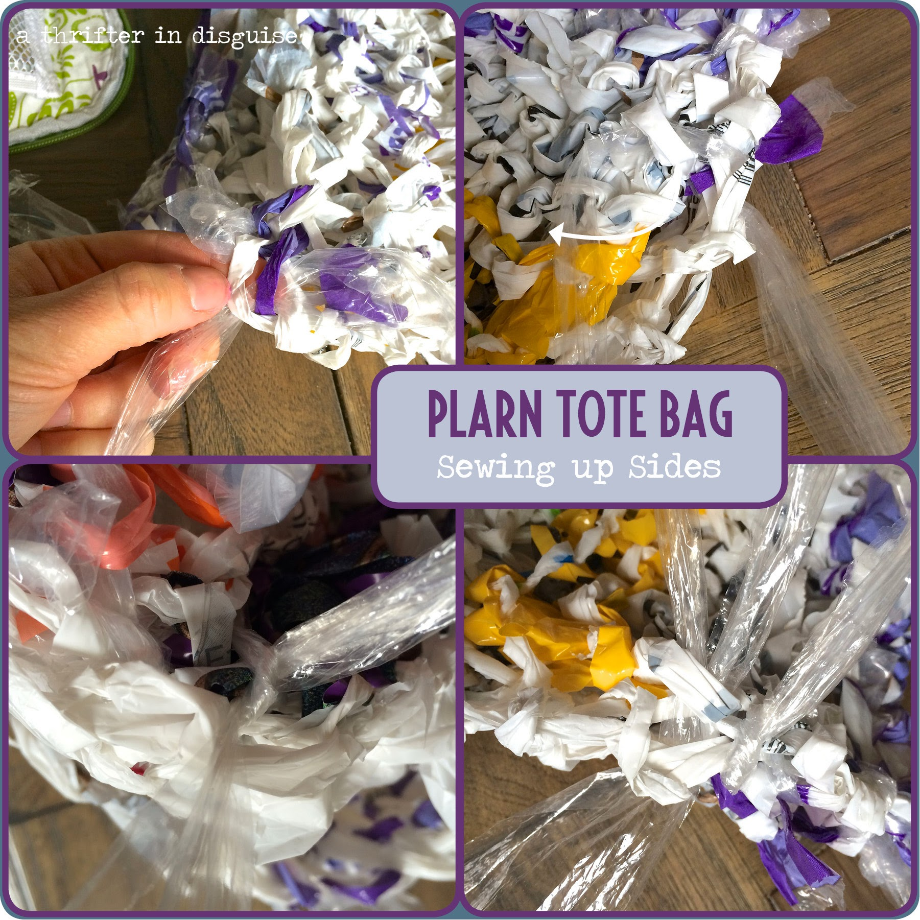 Reusing Plastic Shopping Bags