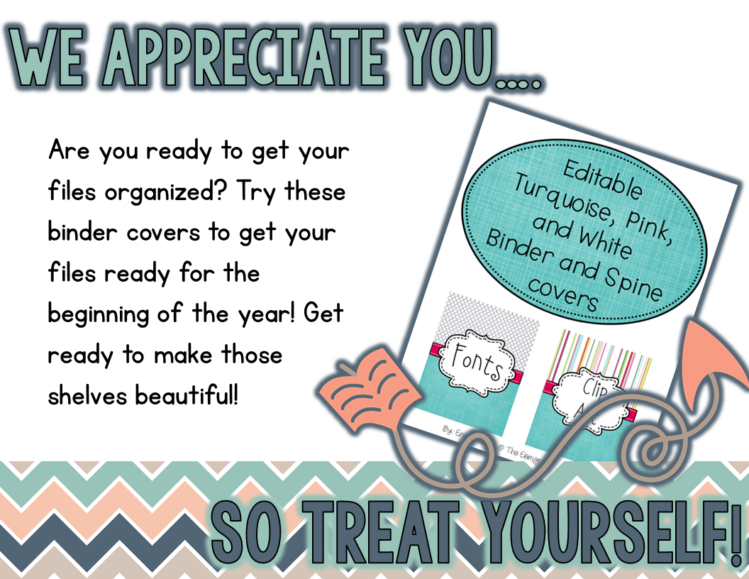 https://www.teacherspayteachers.com/Product/Editable-Binder-Covers-Turquoise-Pink-and-White-1730731