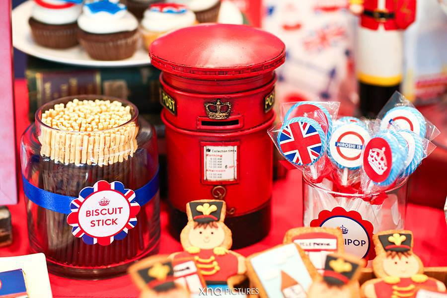 decoracao festa londres:Royal Prince Themed Birthday Party