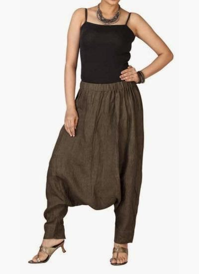 Olive Green Dhoti Pants | Indian Designers | Indian Designer pants