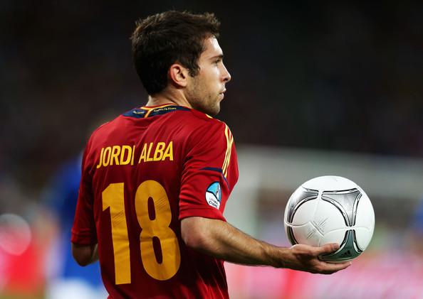 Jordi Alba Spain Young Football Player 2012