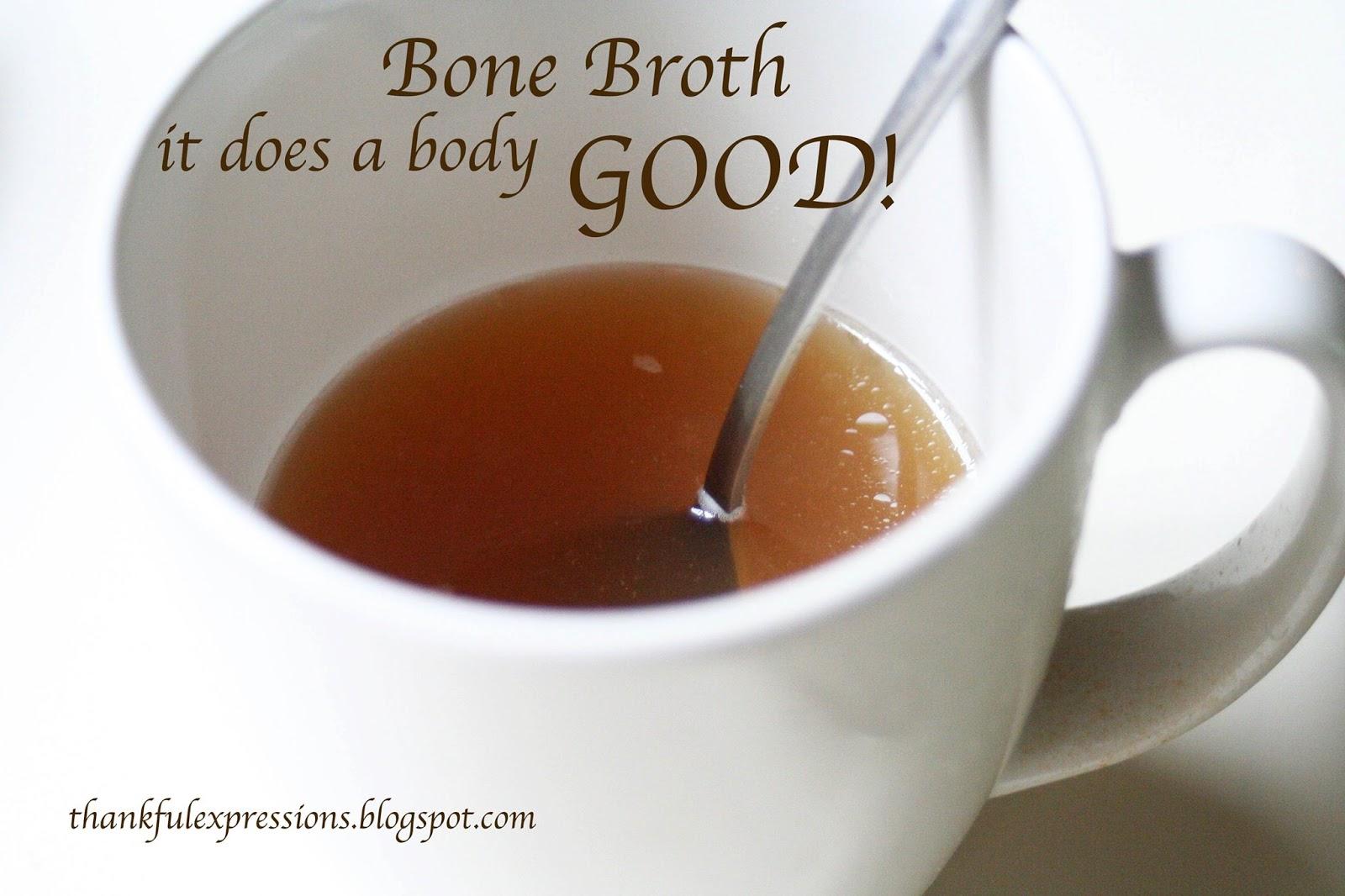 Thankful expressions bone broth for Fish bone broth