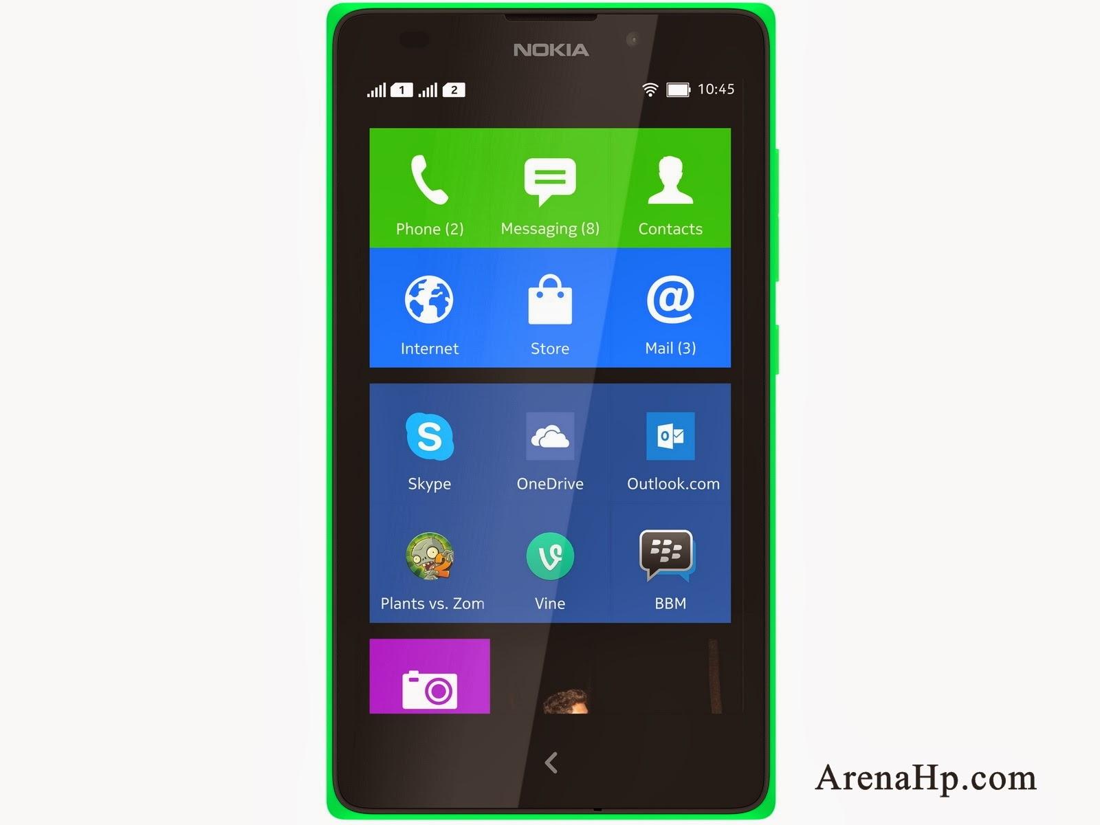 Harga dan Spesifikasi Nokia XL Android Terbaru