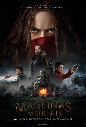 Máquinas Mortais - HDRIP Legendado Filmes Torrent Download capa
