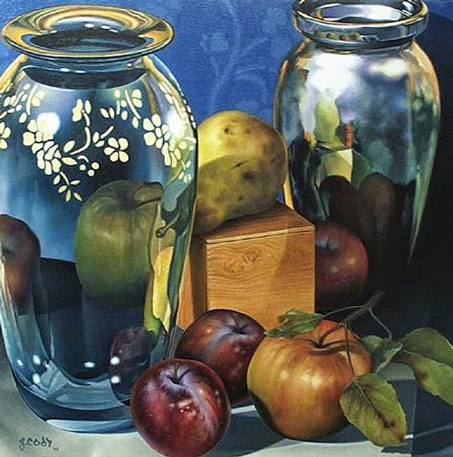 06-Gary-Cody-Photo-Realistic-Paintings-of-our-Keepsakes-www-designstack-co