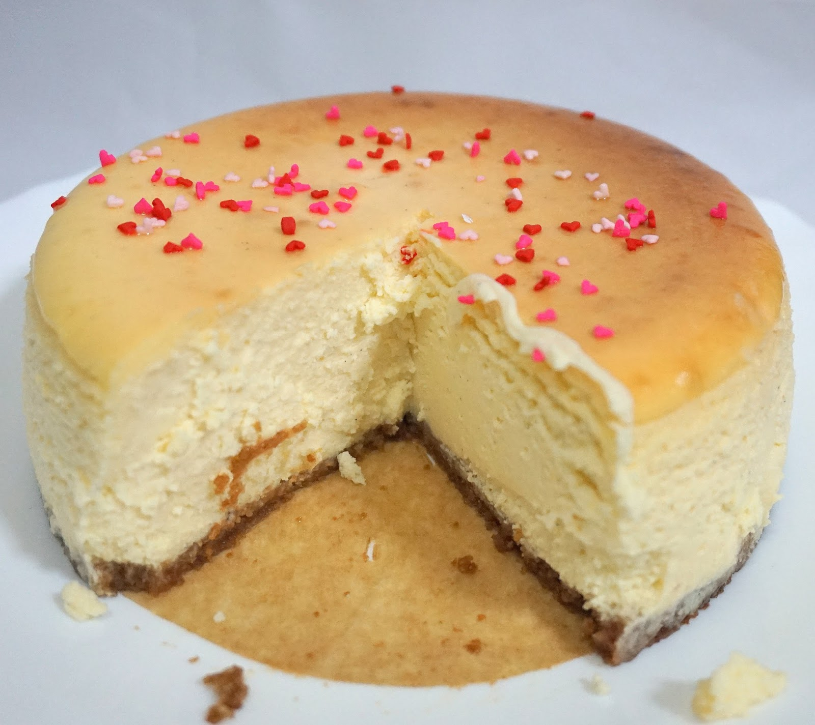 Creamy American Cheesecake Sherbakes
