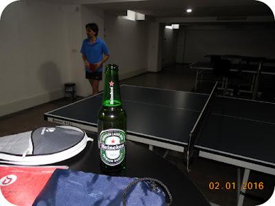 ping-pong si hidratare cu bere