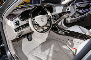 Interior del Mercedes Maybach S600