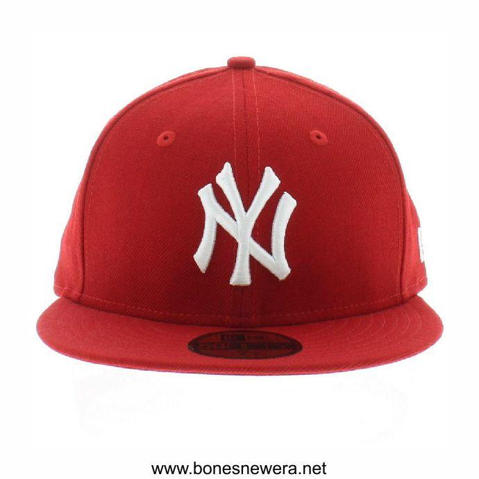 Boné New Era New York Yankees Vermelho 59FIFTY
