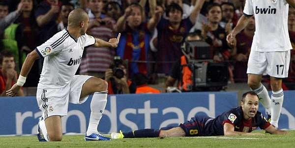 Nuevo ataque de Pepe a los jugadores del Barcelona