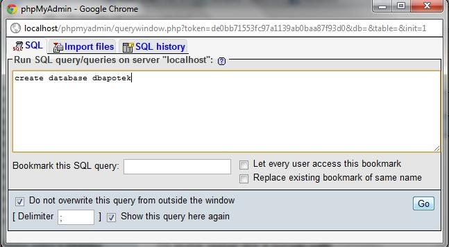 Tutorial Membuat Database menggunakan XAMPP - 1-Click