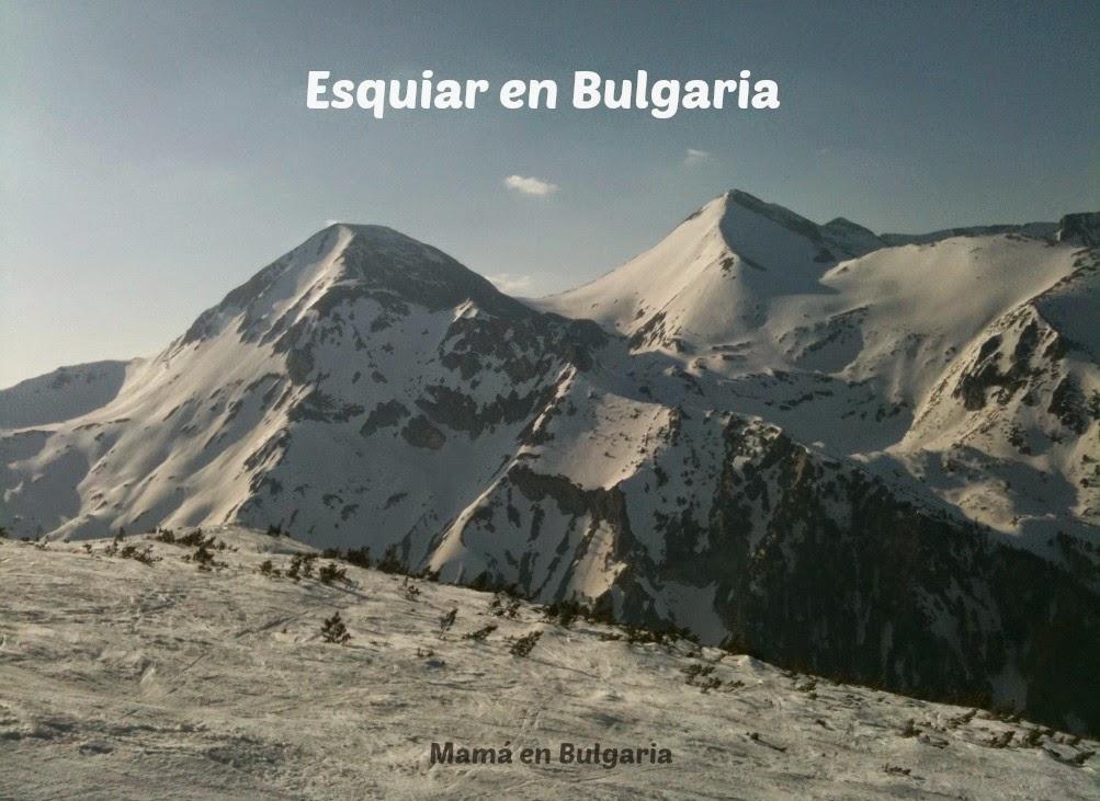 esquiar en Bulgaria