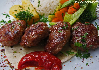Makanan khas Turki kofte bakso turki