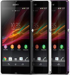 Sony Xperia Z - Harga dan pilihan Warna