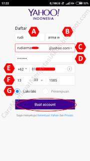 cara membuat email yahoo tanpa verifikasi hp