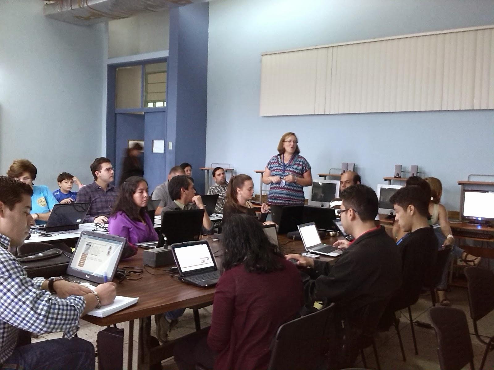 Esta actividad académica fue organizada por el departamento de Computación e Informática de la ULA Táchira, en especial por la profesora Claudia Torres y la licenciada Dalila López.