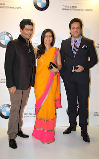 Kajol at the all new-BMW 6 Series Gran Coupe launch