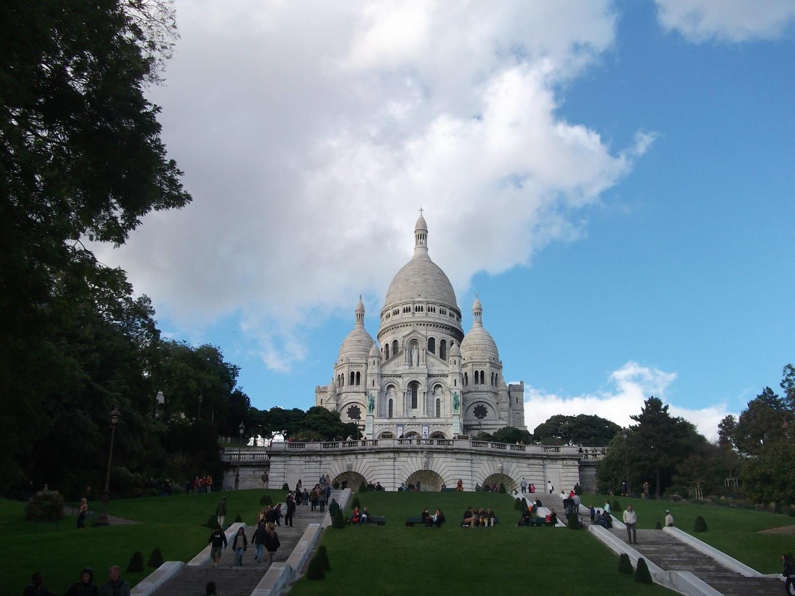 Basílica Sagrado Corazón en París