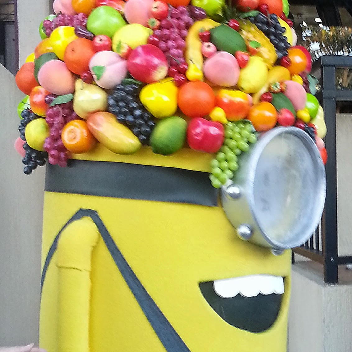 minion fruity carmen miranda halloween cosume