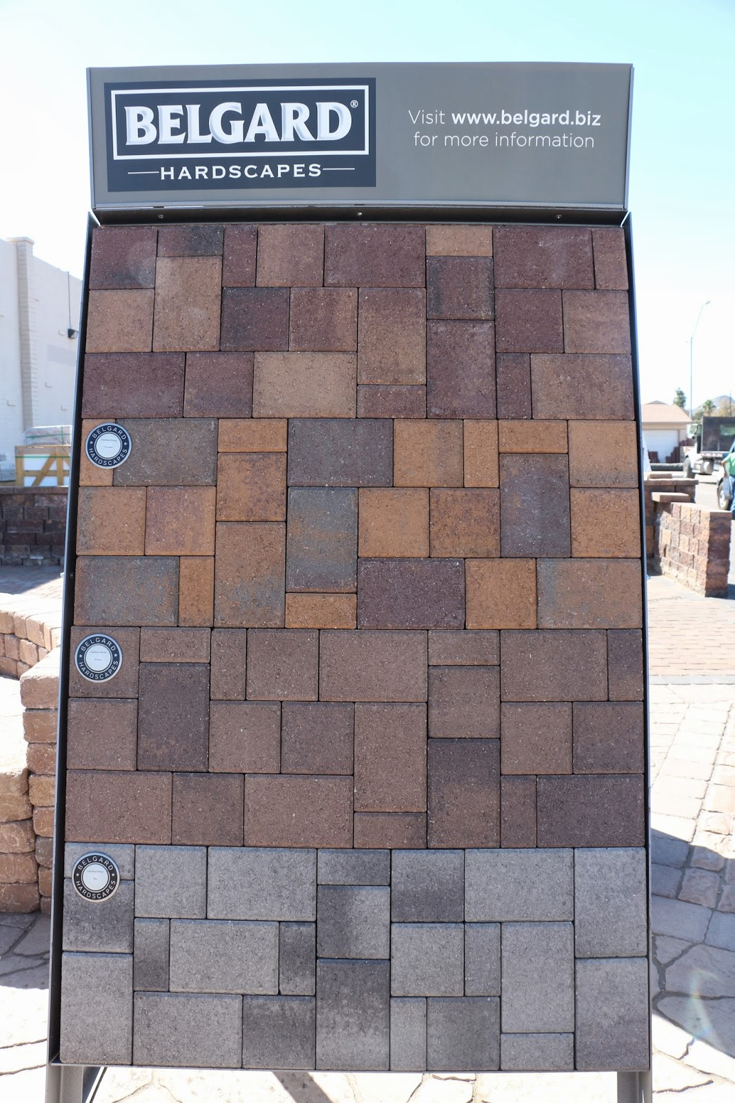 belgard paver colors
