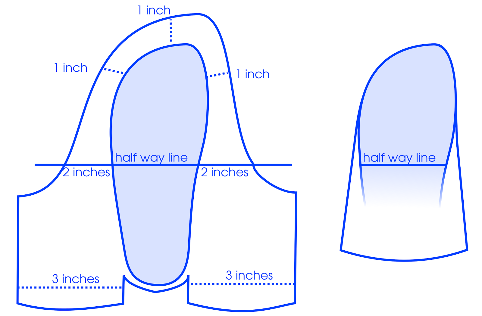 Free Printable Paper Baby Shoe Template