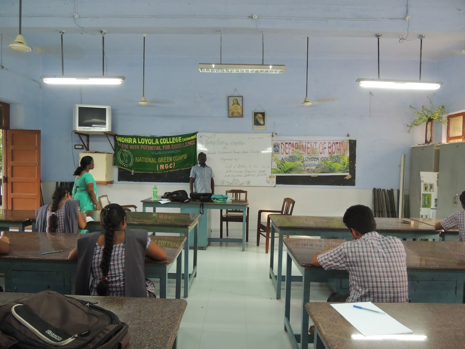 andhra loyola college botany association alba essay writing dept of botany organized an essay writing competition on sustainable environment through green technologies on 4 th 2015 in the botany lab