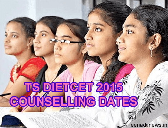TS DIETCET First Phase of Counselling Dates 2015, tsdeecet.cgg.gov.in Rank Card, TS DEECET Certificate Verification, TS DIETCET 2015 Web Options, Seat Allotment Order Rank wise, Telangana DIETCET 2nd Phase Counselling Dates for Admission Letter, TS DEECET Web Based Options